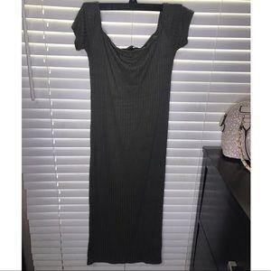 Olive Green Bodycon Dress